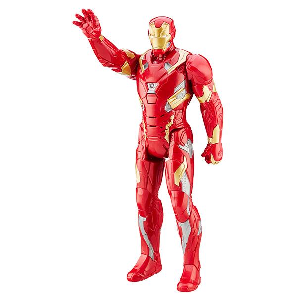 Интерактивная фигурка Железного Человека из серии «Титаны. Мстители»Avengers (Мстители)<br>Интерактивная фигурка Железного Человека из серии «Титаны. Мстители»<br>