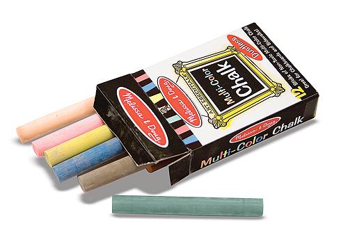 Купить Набор цветных мелков 12 штук из серии Творчество, Melissa&Doug
