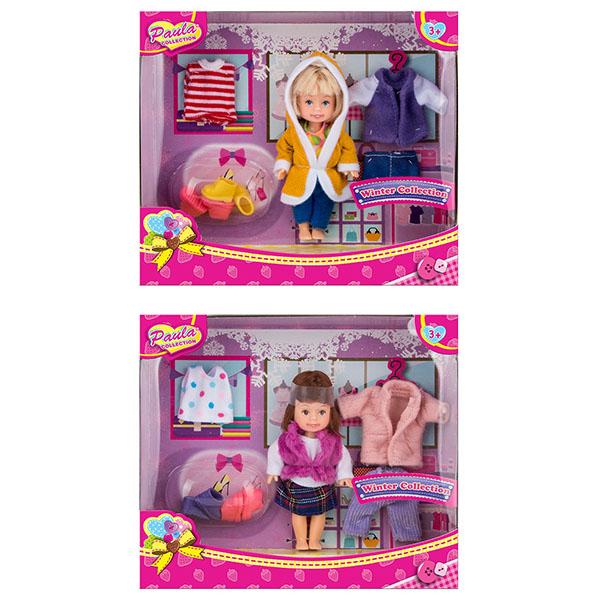 Купить Игровой набор - Зимний гардероб, 2 вида, Paula