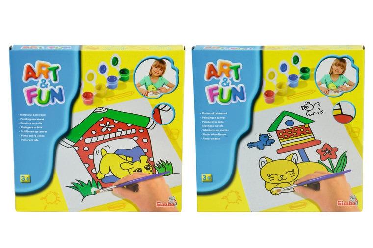 Набор для рисования, 2 видаРаскраски по номерам Schipper<br>Набор для рисования, 2 вида<br>