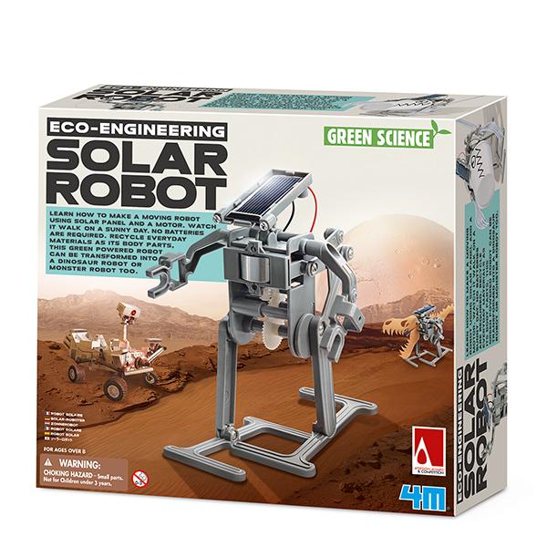 Набор юного инженера Green Science  Солнечный робот - Юный инженер, артикул: 158595