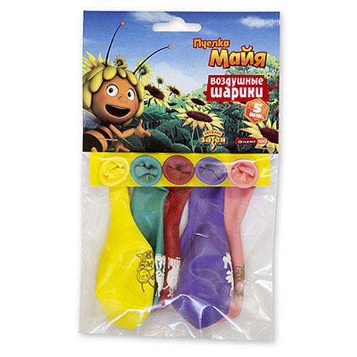 Набор шаров «Пчелка Майя», 30 см, 5 шт.Воздушные шары<br>Набор шаров «Пчелка Майя», 30 см, 5 шт.<br>