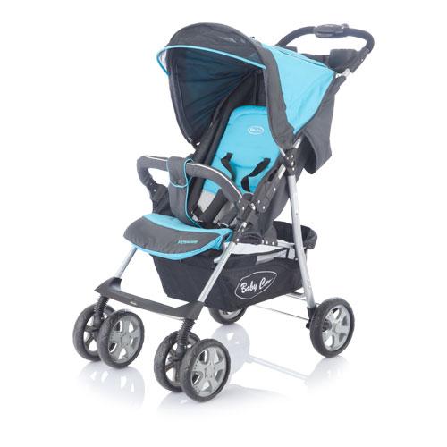 Коляска прогулочная Voyager, blueДетские коляски Capella Jetem, Baby Care<br>Коляска прогулочная Voyager, blue<br>
