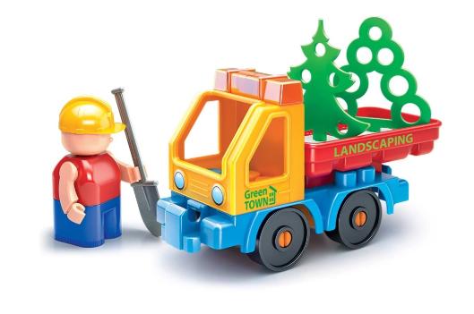 Конструктор Стройка, с грузовиком