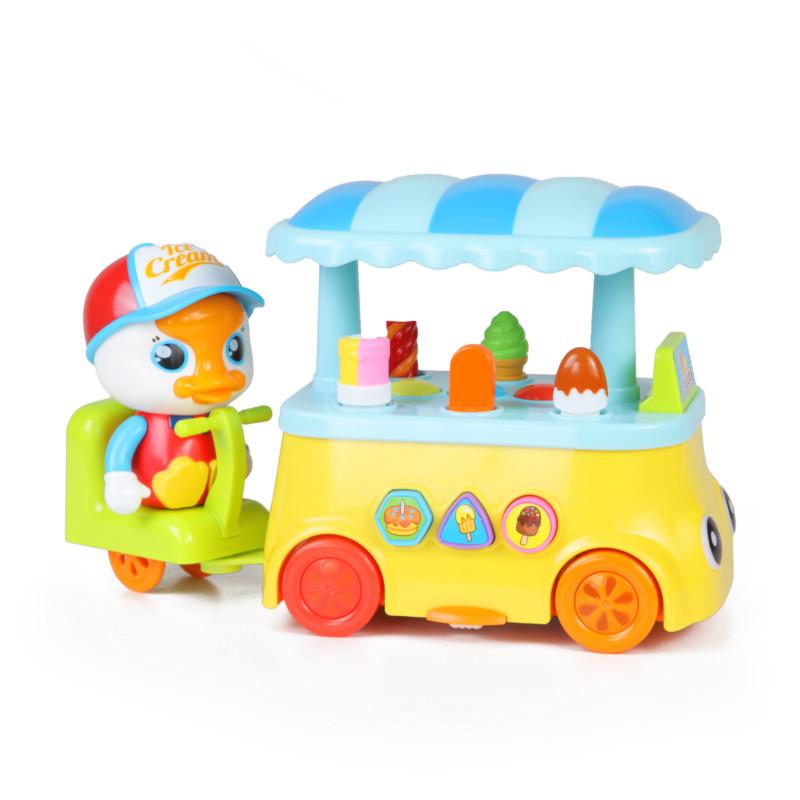 Машинка для малышей - Лоток мороженщикаМашинки для малышей<br>Машинка для малышей - Лоток мороженщика<br>