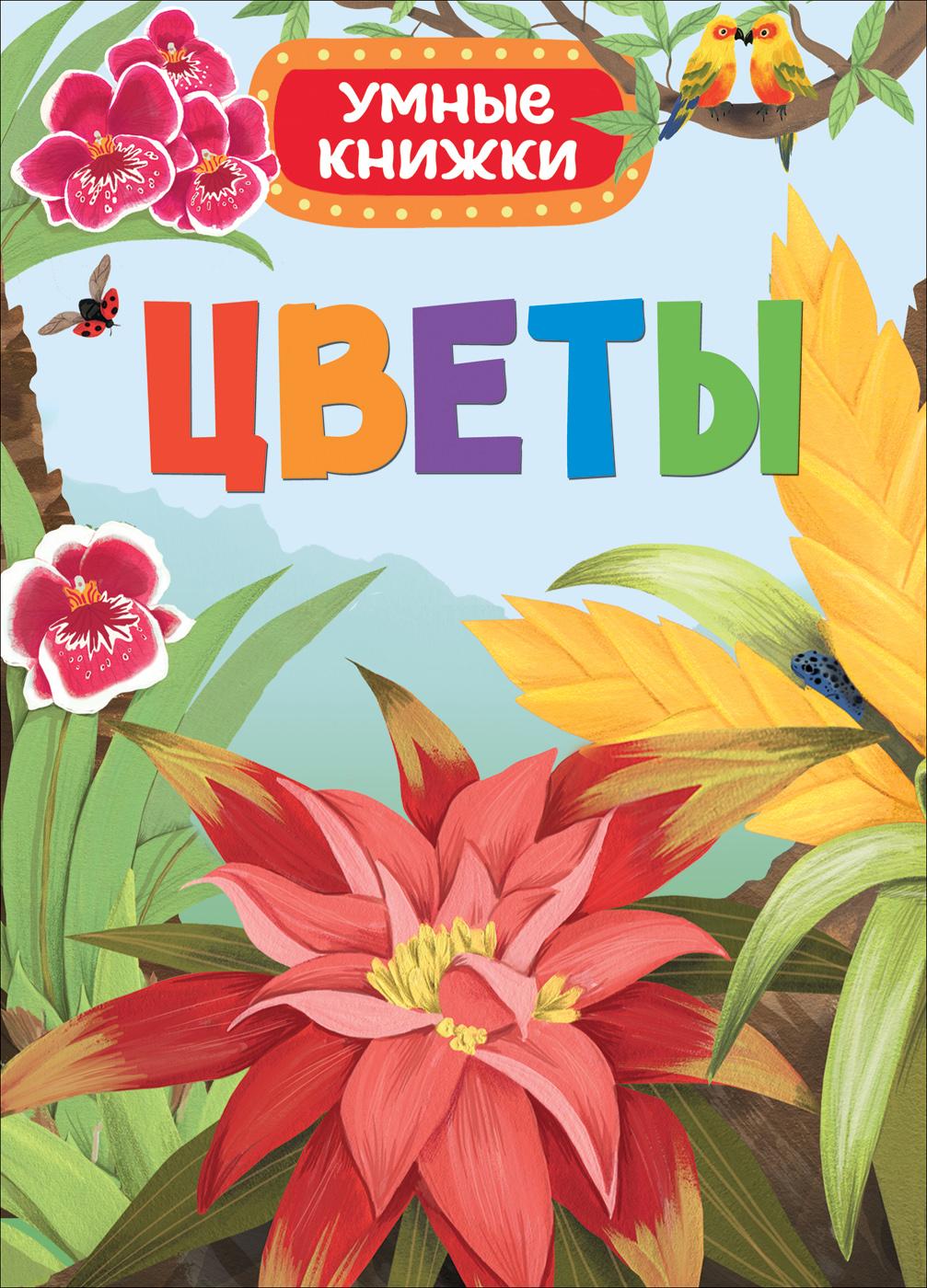 Книга - Цветы из серии - Умные книжкиОбучающие книги<br>Книга - Цветы из серии - Умные книжки<br>