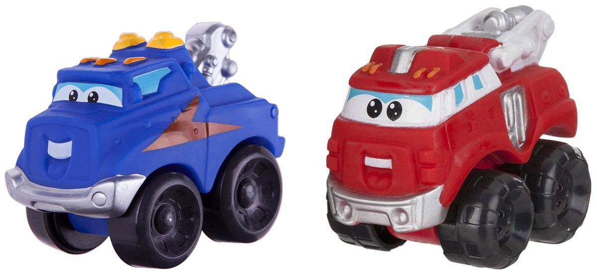 Машинки Chuck &amp; Friends – Хэнди и Бумер, 5 смМашинки для малышей<br>Машинки Chuck &amp; Friends – Хэнди и Бумер, 5 см<br>
