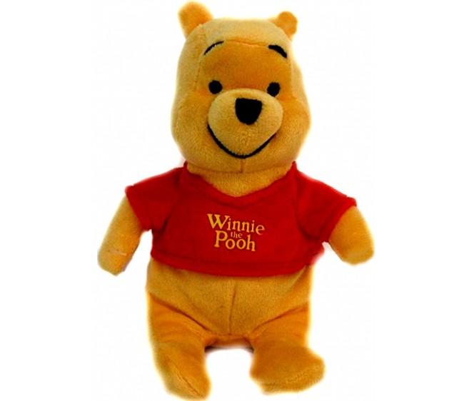 Мягкая игрушка - Медвежонок Винни, 20 см.Мягкие игрушки Disney<br>Мягкая игрушка - Медвежонок Винни, 20 см.<br>