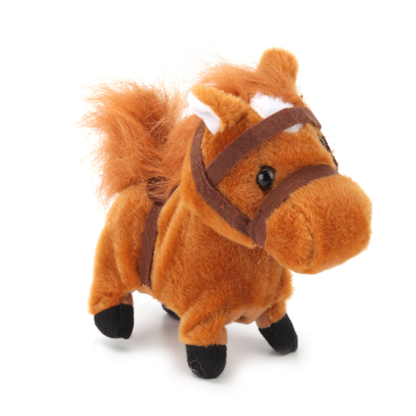 Купить Интерактивный пони My Friends Барти, 17 см., музыкальный, 5 функций, ходит, Играем вместе
