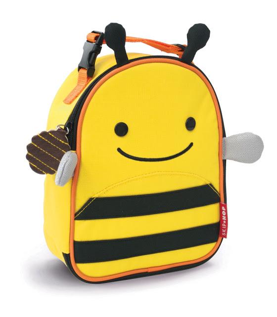 Купить Ланч-бокс детский Пчела, Skip Hop