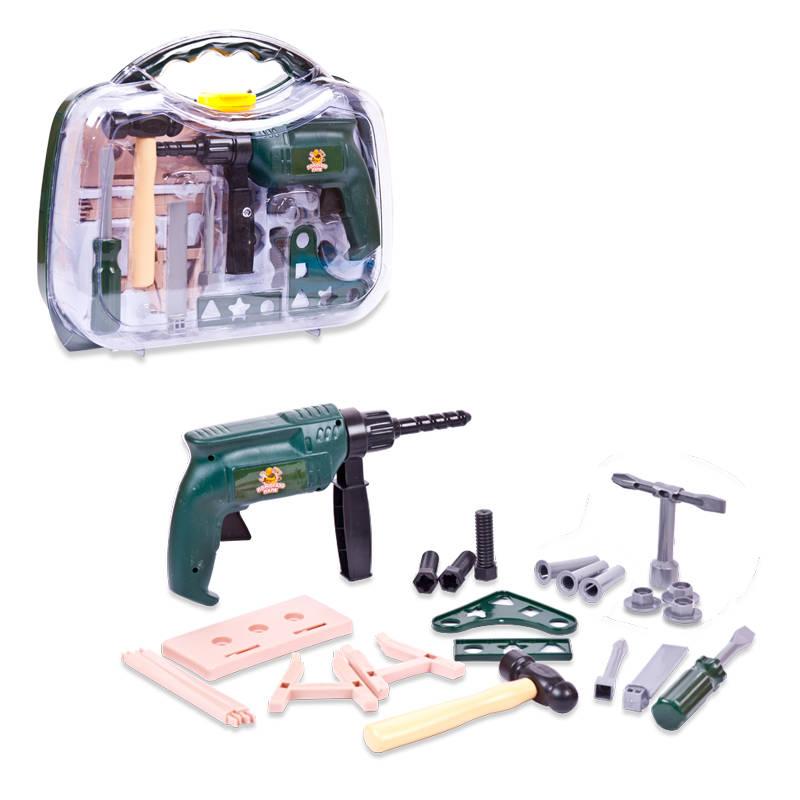 Набор инструментов в чемодане 22 предмета – Помогаю папеДетские мастерские, инструменты<br>Набор инструментов в чемодане 22 предмета – Помогаю папе<br>