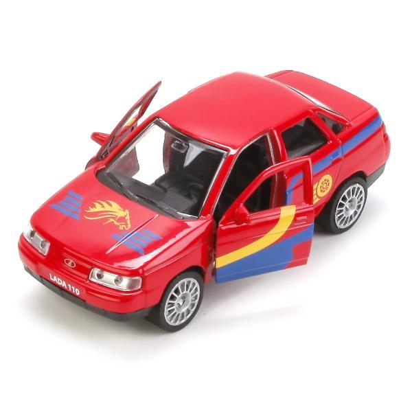 Машина металлическая Лада 110 Спорт инерционная 12 см, открываются двериLADA<br>Машина металлическая Лада 110 Спорт инерционная 12 см, открываются двери<br>