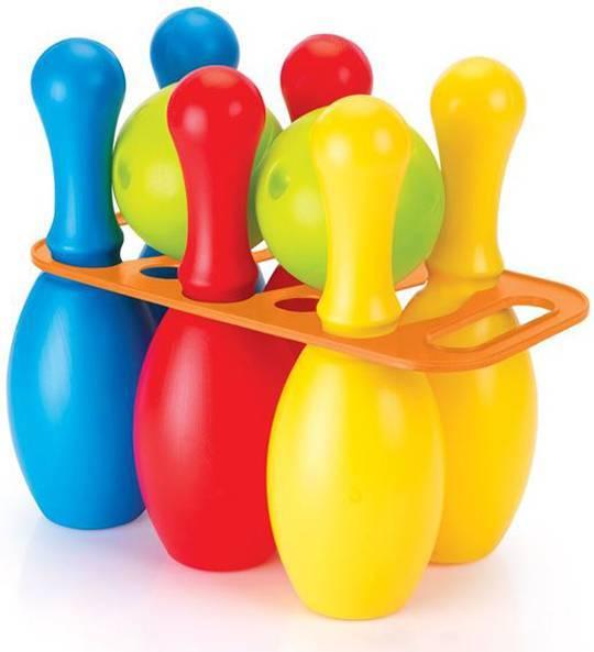 Купить Мега набор Боулинг из 6 кеглей и 2 шаров, Dolu