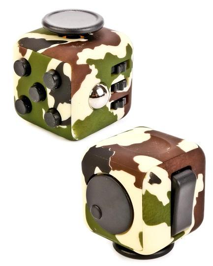 Игрушка антистресс Fidget Cube MilitaryАнтистресс кубики Fidget Cube<br>Игрушка антистресс Fidget Cube Military<br>