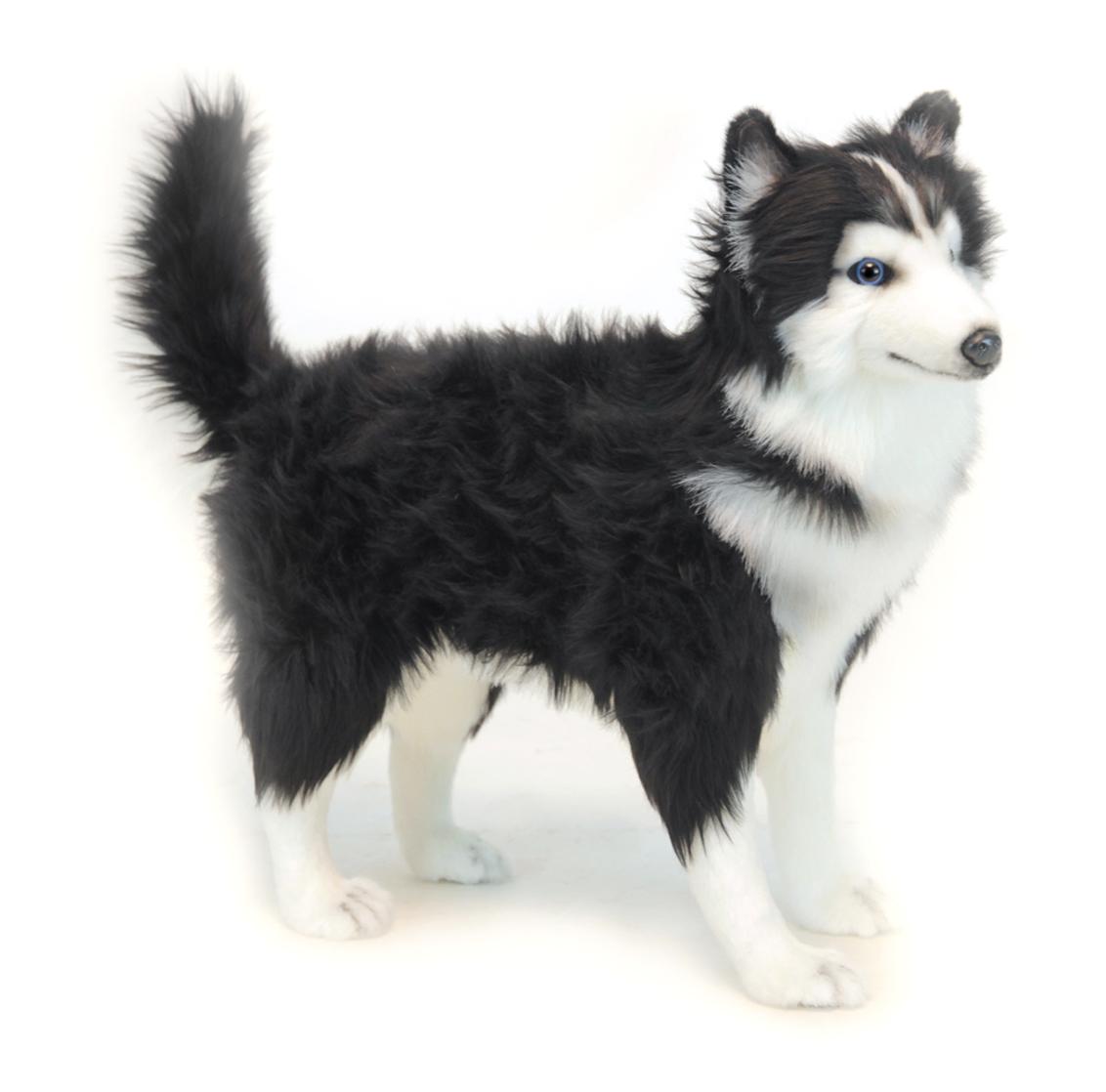 Хаски черно-белая, 56 смБольшие игрушки (от 50 см)<br>Хаски черно-белая, 56 см<br>