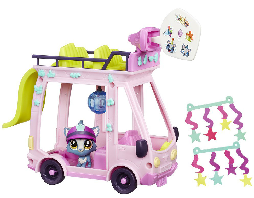Игровой набор. Автобус. LPSLittlest Pet Shop – Маленький зоомагазин<br>Игровой набор. Автобус. LPS<br>