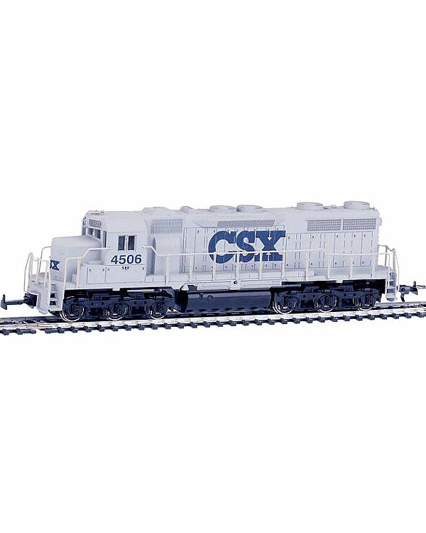 Дизельный тепловоз SD-35 CSX, DC аналоговое управлениеДетская железная дорога<br>Дизельный тепловоз SD-35 CSX, DC аналоговое управление<br>