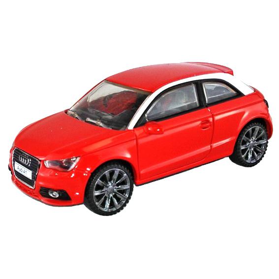 Металлическая машинка Audi A1, масштаб 1:43Audi<br>Металлическая машинка Audi A1, масштаб 1:43<br>