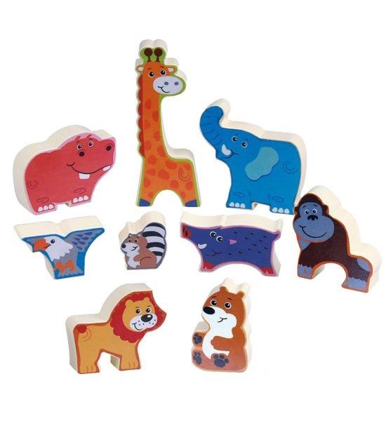 Пазл-головоломка Животные сафариПазлы для малышей<br>Пазл-головоломка Животные сафари<br>