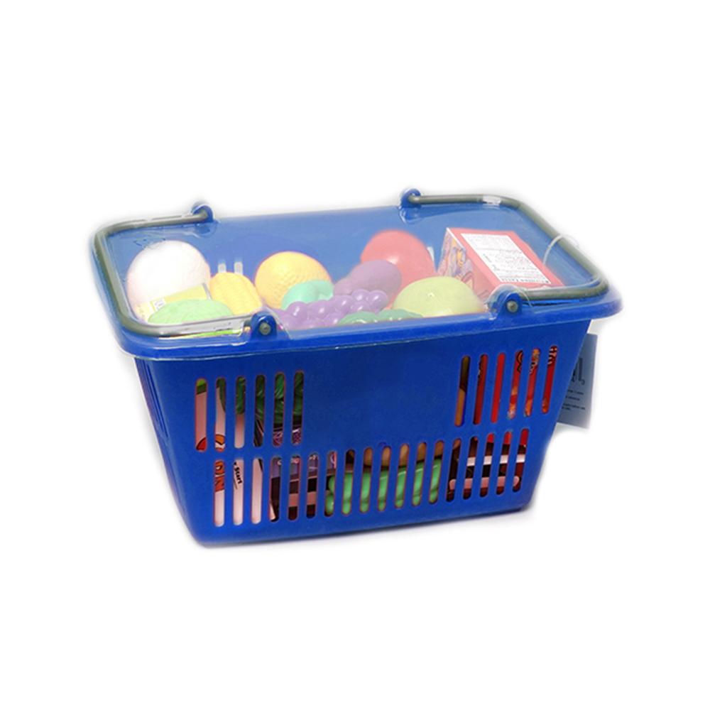 Игровой набор – Корзинка с продуктами, 23 предметаДетская игрушка Касса. Магазин. Супермаркет<br>Игровой набор – Корзинка с продуктами, 23 предмета<br>