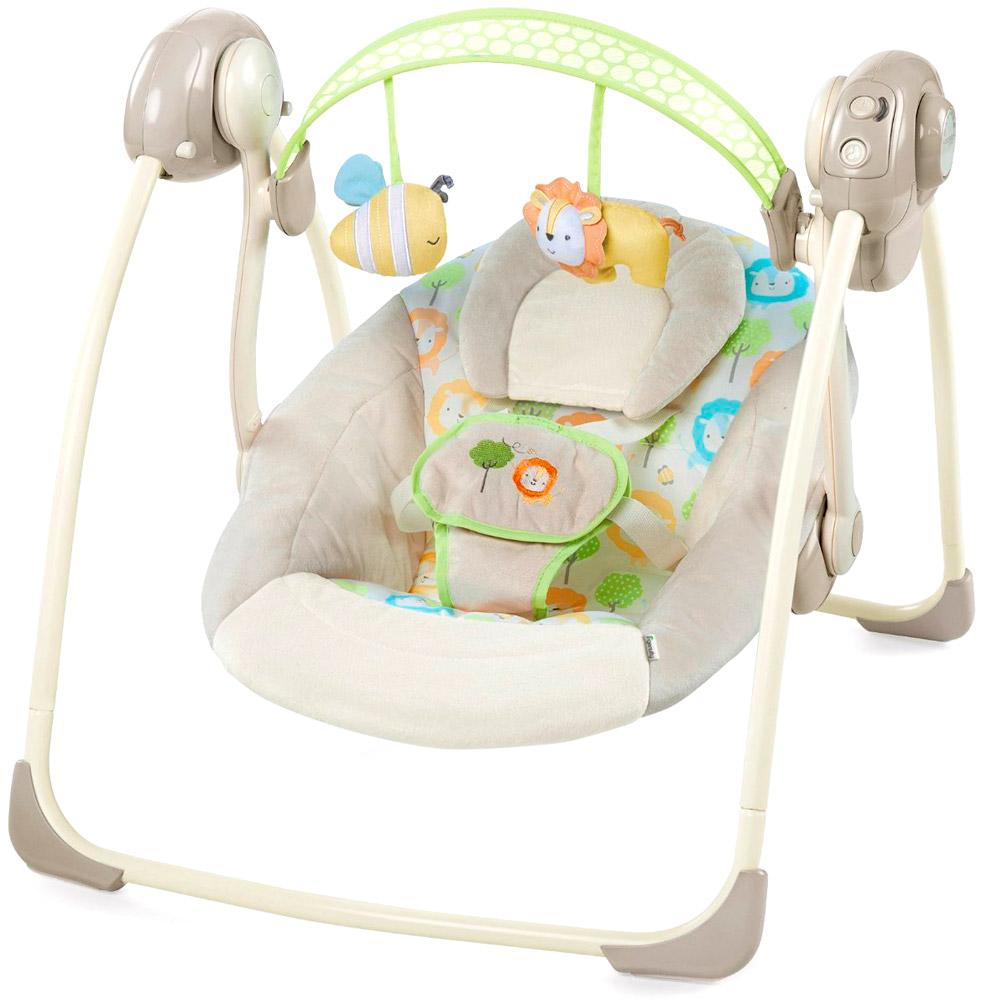 Качели для новорожденных Bright Starts Солнечный денёкЭлектронные качели для детей<br>Качели для новорожденных Bright Starts Солнечный денёк<br>
