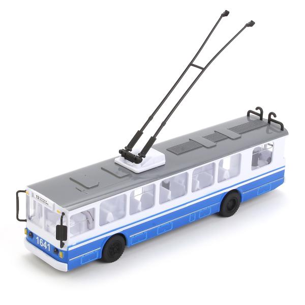 Троллейбус инерционный, свет, звук, открываются двериАвтобусы, трамваи<br>Троллейбус инерционный, свет, звук, открываются двери<br>