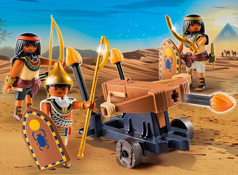 Купить Игровой набор из серии Римляне и Египтяне: Египетский солдат с Баллистой, Playmobil