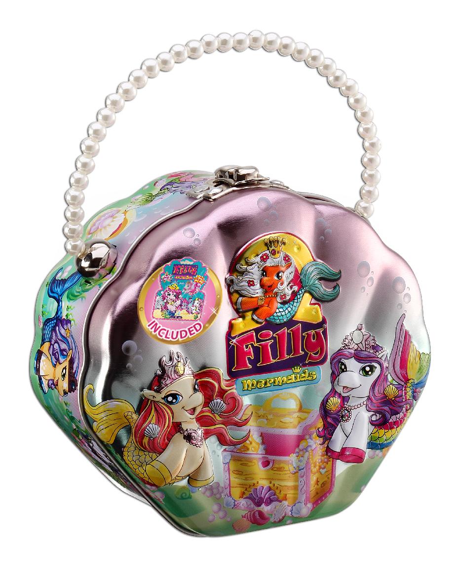 Набор Filly Русалочки  Сумочка-ракушка - Лошадки Филли Filly Princess, артикул: 142865