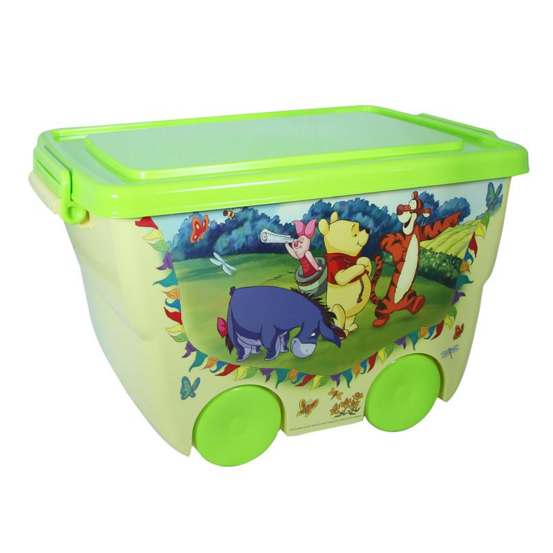 Ящик для игрушек из серии Disney – Винни-Пух, 24 литраКорзины для игрушек<br>Ящик для игрушек из серии Disney – Винни-Пух, 24 литра<br>