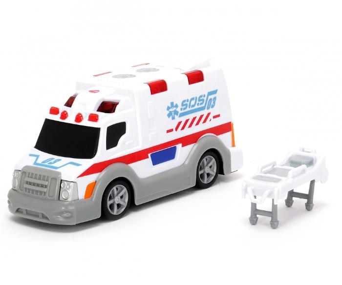 Машина скорой помощи со светом и звуком, 15 см.Скорая помощь<br>Машина скорой помощи со светом и звуком, 15 см.<br>