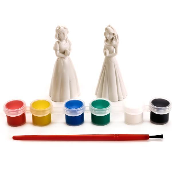 Купить Набор для раскрашивания фигурок - Белоснежка и Аврора, Multiart