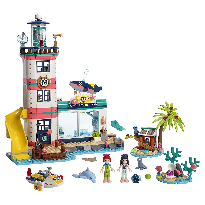 Конструктор Lego Friends - Спасательный центр на маяке