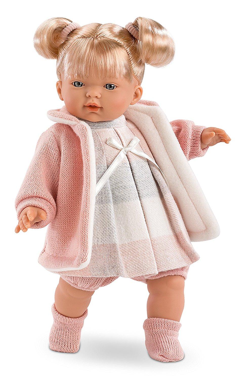 Кукла Айтана, озвученная, 33 см.Испанские куклы Llorens Juan, S.L.<br>Кукла Айтана, озвученная, 33 см.<br>