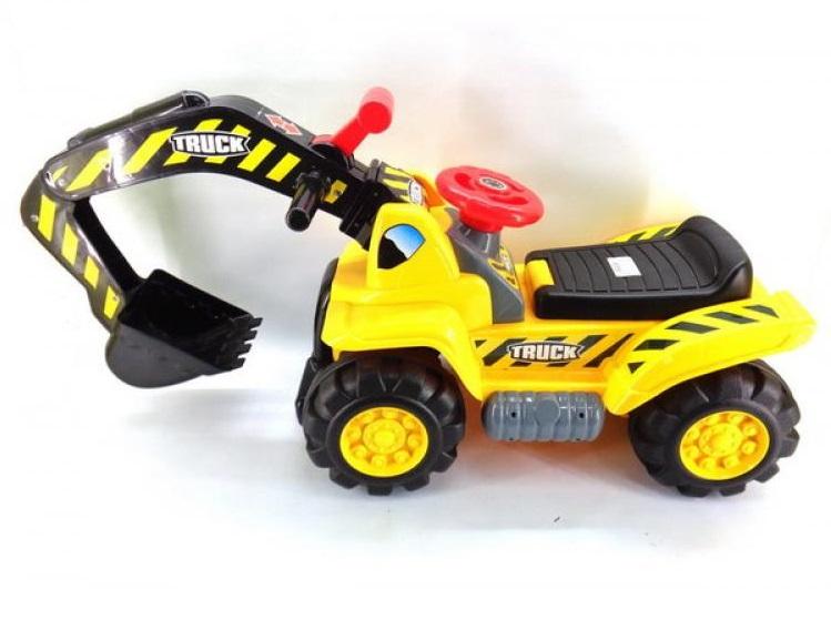 Машина-каталка – ЭкскаваторМашинки-каталки для детей<br>Машина-каталка – Экскаватор<br>