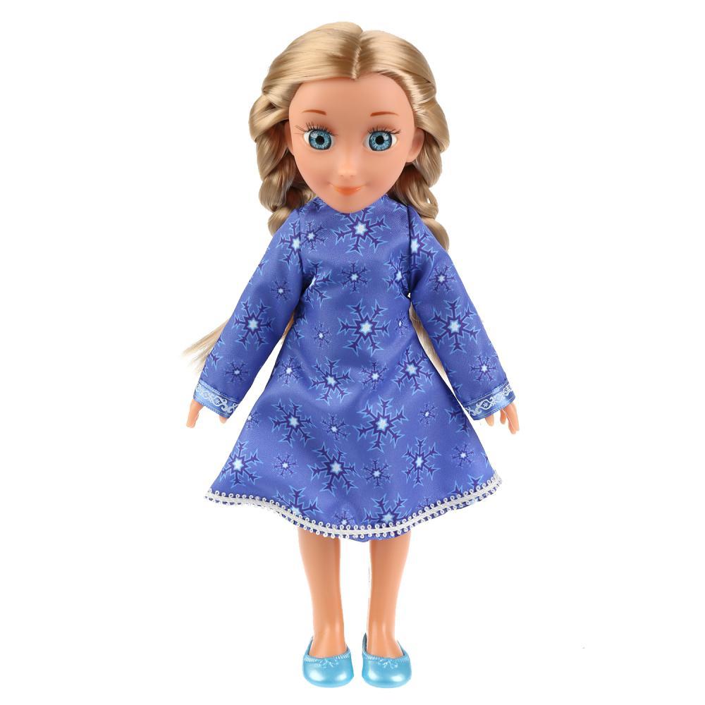 Кукла из серии Снежная королева - Герда, 32 см., озвученная, с аксессуарами, Карапуз  - купить со скидкой