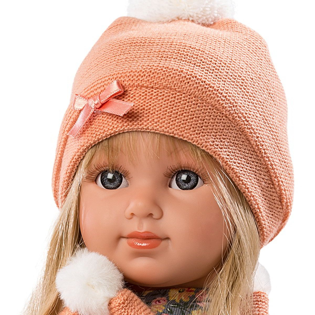 Кукла Antonio Juan Кукла младенец Лана Light Blue 1109B