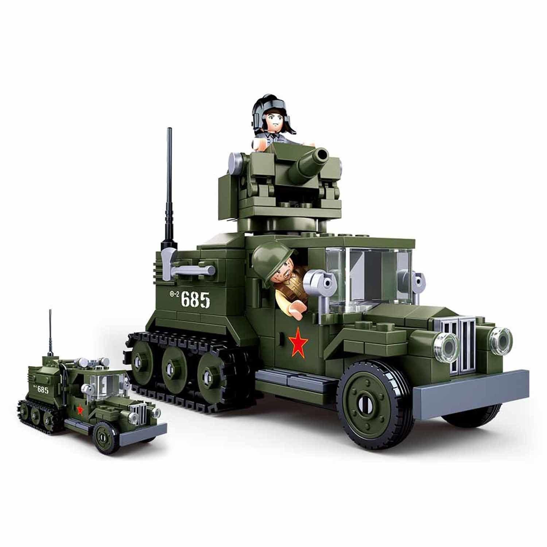 Конструктор – Военная машина с фигурками, 243 детали по цене 1 155