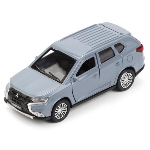 Металлическая инерционная машина – Mitsubishi Outlander, 12 см, открывающиеся двери и багажникMitsubishi<br>Металлическая инерционная машина – Mitsubishi Outlander, 12 см, открывающиеся двери и багажник<br>