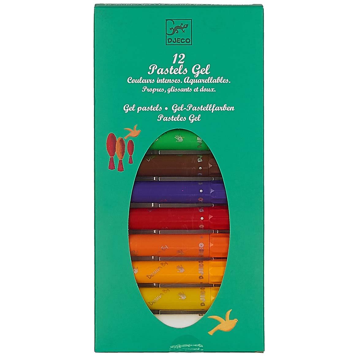 Набор пастельных карандашей, 12 штукКарандаши<br>Набор пастельных карандашей, 12 штук<br>