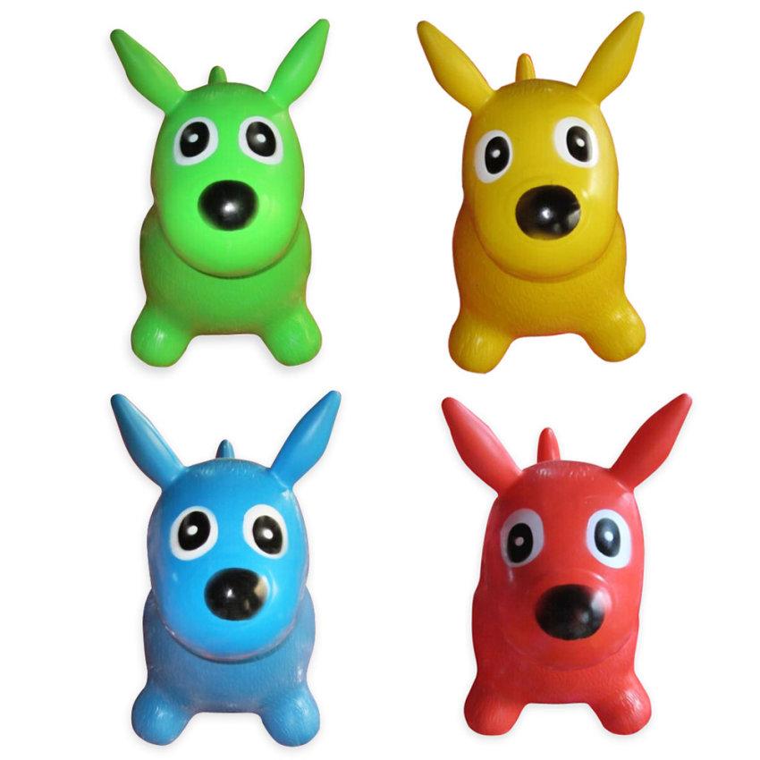 Животное-прыгун Собака, 4 цветаДетские кресла-качалки<br>Животное-прыгун Собака, 4 цвета<br>