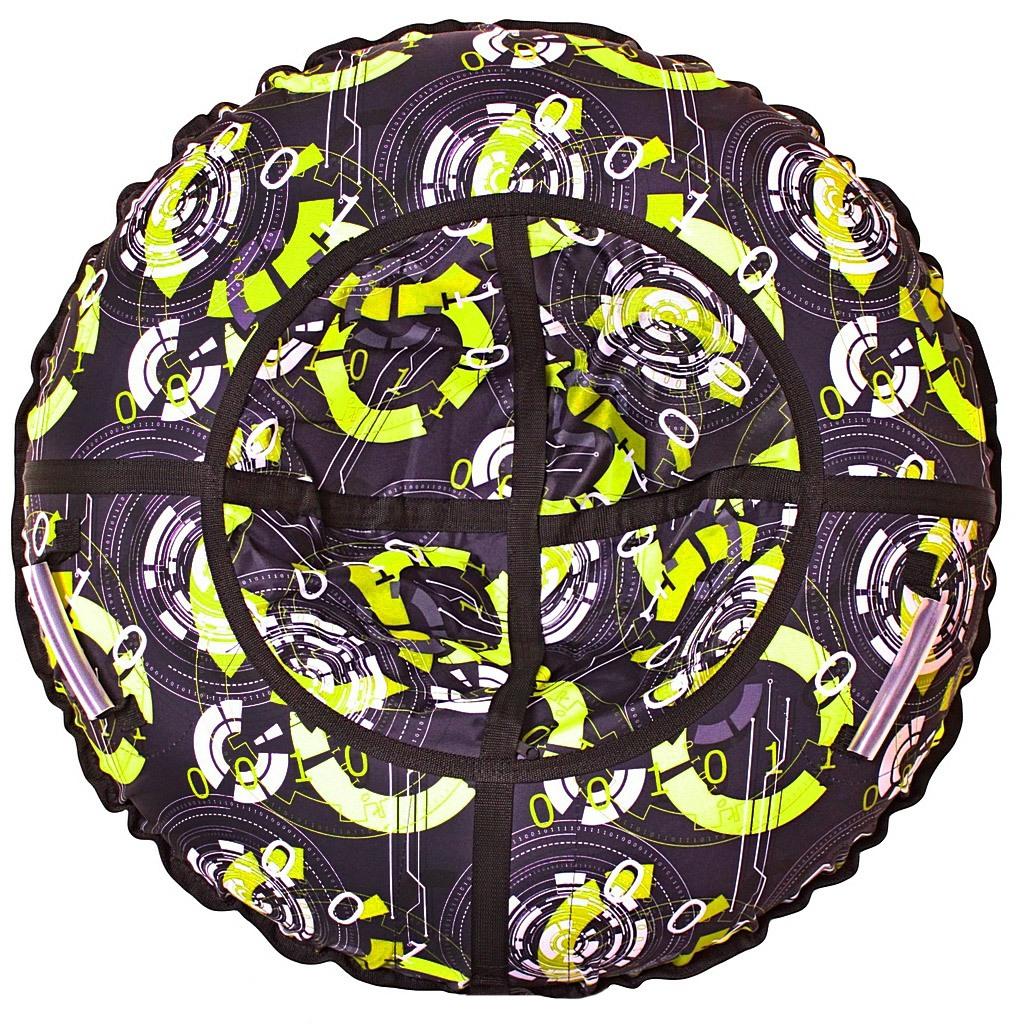 Купить Санки надувные Тюбинг Галактика, диаметр 118 см., RT