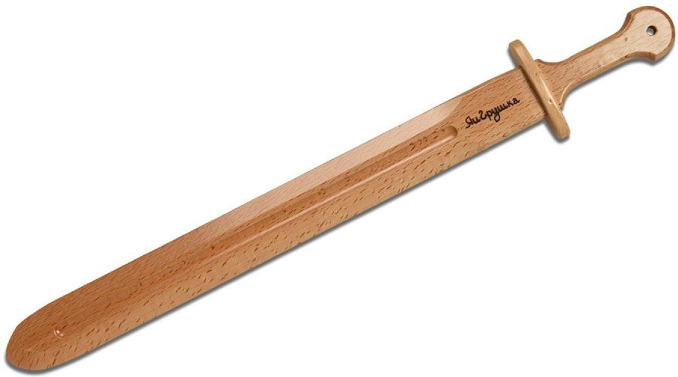 Меч прямой из бука, ручная работаОружие из дерева<br>Меч прямой из бука, ручная работа<br>