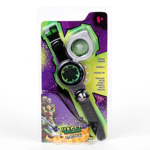 Шпионские часы «Черепашки-ниндзя» - Шпионские игрушки. Наборы секретного агента, артикул: 124115