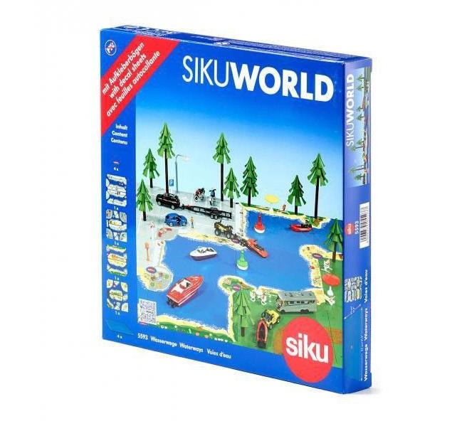 Купить Игровой набор - Морская жизнь, с наклейками, Siku