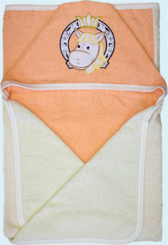 Банное полотенце, молочное Золотой гусь