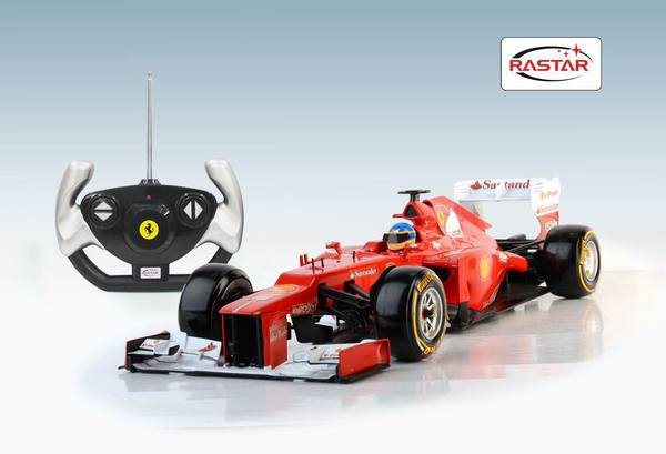 Радиоуправляемая игрушечная машинка Ferrari F1, масштаб 1:12
