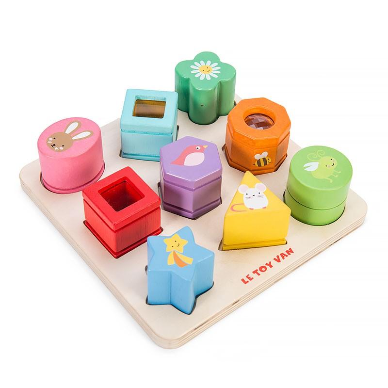 Сортер Le Toy Van  Сенсорные формы - Деревянные игрушки, артикул: 161087
