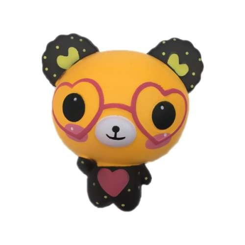 Купить Игрушка-антистресс Squishy - М-м-мняшка – Медвежонок в очках, 1TOY