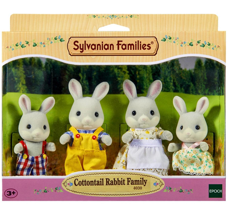 Sylvanian Families - Семья серых кроликовСемьи и малыши<br>Sylvanian Families - Семья серых кроликов<br>