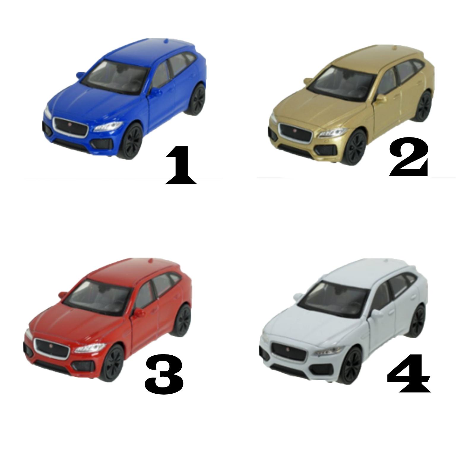 Игрушечная модель машины - Jaguar F-Pace, 1:34-39JAGUAR<br>Игрушечная модель машины - Jaguar F-Pace, 1:34-39<br>